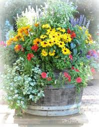 Patio Container Garden Ideas Container Garden Ideas Courtyard Patio Container Garden Planting