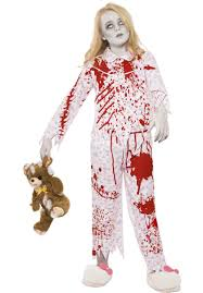 kids zombie pyjama costume escapade uk