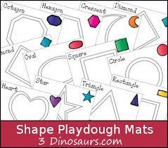 free printable shape playdough mats free shape playdough mats shapes play doh and math