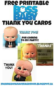 musings of an average mom boss baby thank you cards