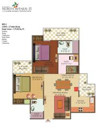 study room floor plan plan galaxy north avenue 2