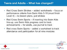red cross swim program update ppt video online download