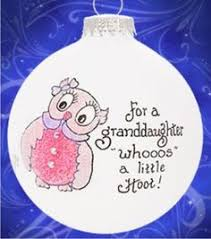 Grandparent Ornaments Personalized My Granddaughter My Love Grandparents Ornament New Baby Family