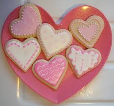 heart shaped cookies pink heart sugar cookies the purple spoon