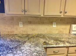 Travertine Backsplash Tiles by Backsplash Fox Granite