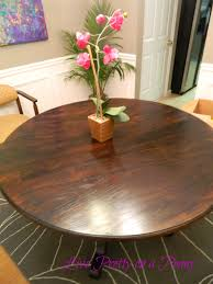 live pretty on a penny refinishing an oak table a dining room