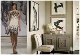 home interior trends 2015 york fashion week translated into timeless interiors