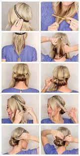 Hochsteckfrisurenen Selber Machen Kurzhaar by The 25 Best Hochsteckfrisuren Mittellanges Haar Selber Machen