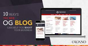 Organo Gold Business Cards 10 Ways The New Organo Blog Can Help You Boost Your Business