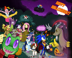 sonicxmlp trick or treat by ss2sonic on deviantart