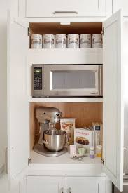 kitchen appliance storage cabinets kitchen shelving ideas