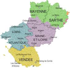 Nantes France Map by A Guide To The Departments Of Pays De La Loire New French Regions