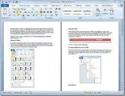 How To Use A Resume Template In Word 2010 Insert Page Numbers In Word 2010 Document