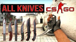 cs go all knives counterstrike go all knives animations youtube