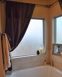 Small Bathroom Window Curtains by Carnation Home Fashions Wc 06 Vinyl Bathroom Window Curtain Jade