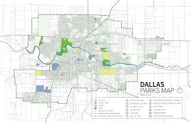 Map Of Dallas by Park System Inventory Dallas Parks Master Plan