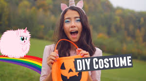 fluffy halloween costumes diy pink fluffy unicorn halloween costume idea youtube
