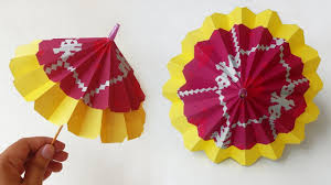origami umbrella u2013 best paper umbrella that open and close u2013 diy