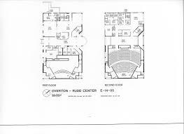 Overton Auditorium And Rudd Student Center Au