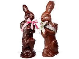 easter chocolate bunny jumbo chocolate easter bunny li lac chocolates