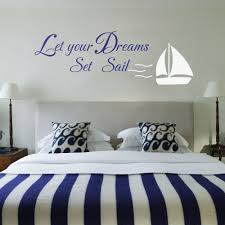wall decal nautical color the walls of your house wall decal nautical set sail home decor vinyl wall art decal wall stickers in nautical