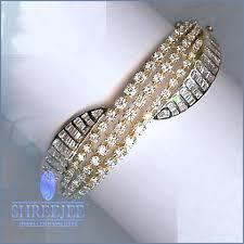 diamond bracelet bangles images Diamond jewelery with latest designs jpg