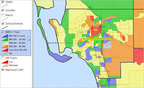 Palm Beach Florida Zip Code Map Largest 100 Districts