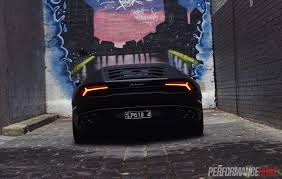 Lamborghini Aventador Tail Lights - lamborghini huracan lp610 4 review video performancedrive