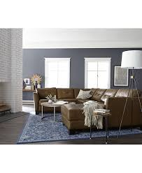 Movie Pit Sofa by Martino Leather Sectional Living Room Furniture Collection