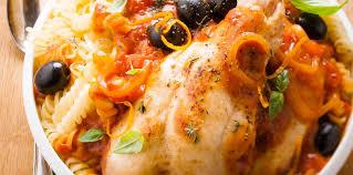 cuisine provencale recette poulet à la provençale facile et pas cher recette sur cuisine