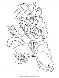 dragon ball z super saiyan 4 coloring page free download