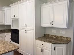 knotty alder kitchen cabinets and granite countertops after being