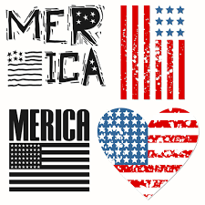 How To Create A Countrified Patriotic Merica American Flag Countrified Design Set Svg Cuttable
