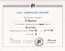 Autocad Certification Computer Aided Design For Civil
