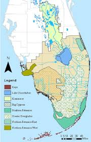 Map Florida Keys by Map Showing Florida Bay And The Southern Estuaries Module In The