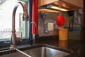 fascinating pegboard kitchen backsplash and metal gallery images