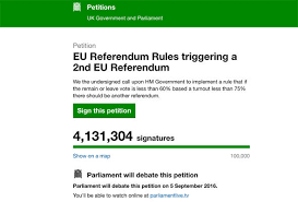 Date set for Parliament debate after  MILLION sign petition for     Daily Express