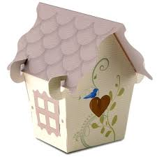 wedding favor boxes sweet bird house favor box the knot shop