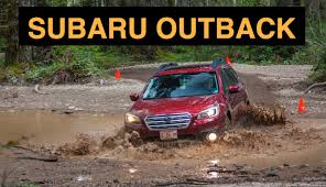 rally subaru outback 2015 subaru outback off road and track review youtube