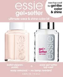 essie gel setter duo kits ballet slippers shop all brands