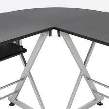 southern enterprises corner desk southern enterprises black corner computer desk best spray paint