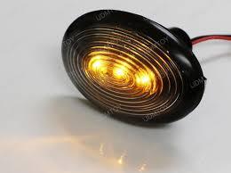 led mini marker lights amber led black side marker lights for mini cooper r55 r56 r57 r58