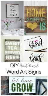 decoart blog diy diy word art