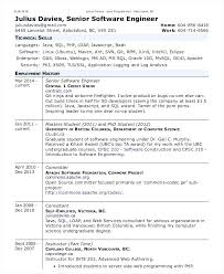 software engineer resume template software developer sle resume lidazayiflama info