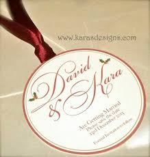 Personalised Wedding Invitation Cards Save The Dates Wedding Invites Bauble Shaped Wedding Invites For