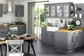 deco cuisine grise decoration cuisine grise et bois idée de modèle de cuisine