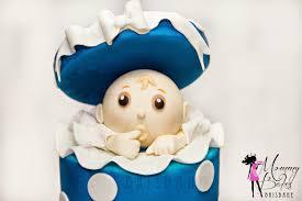 mommybakes brisbane surprise baby shower cake