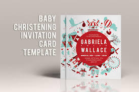 baby christening invitation template invitation templates