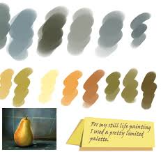 step 6 painting fruits is a great way for practice for shading and color blending