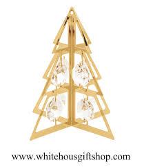 christmas u0026 holiday tree ornament or desk model artisan geometric